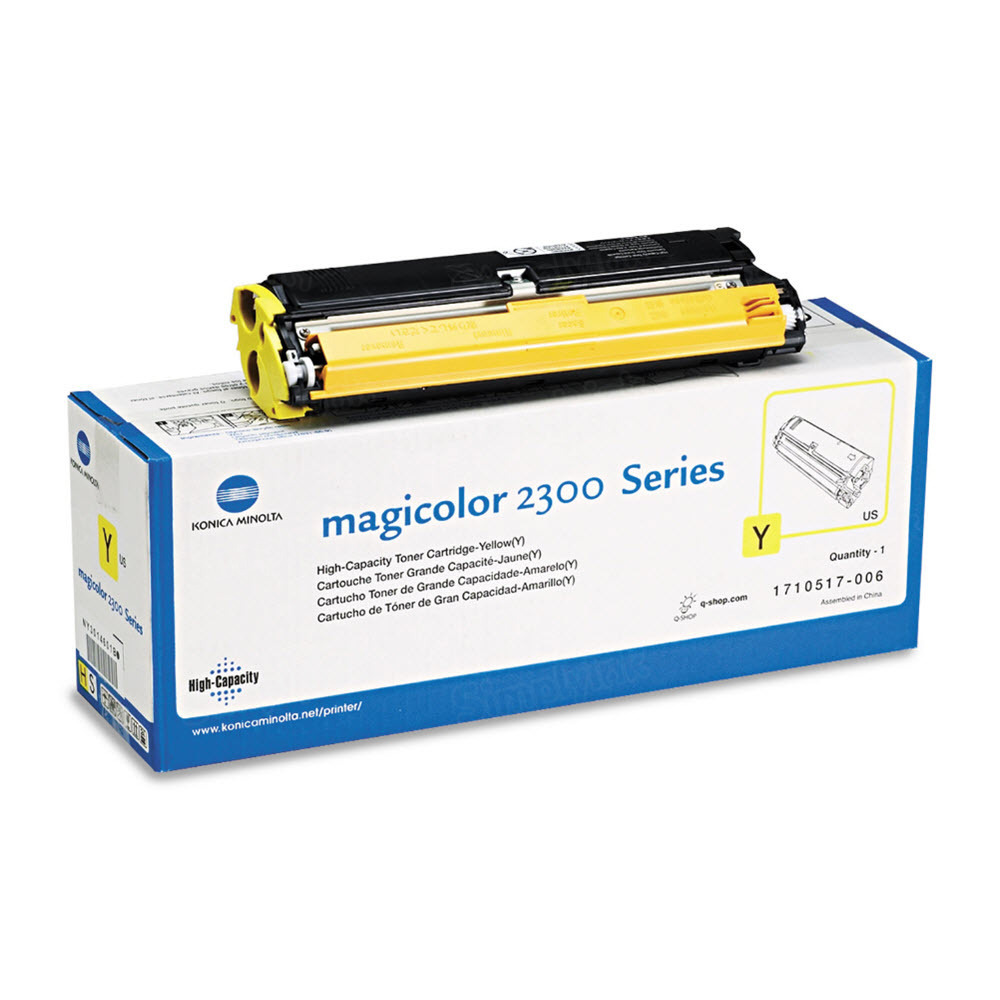 1710517-006 High Yield Yellow Toner for Konica Minolta