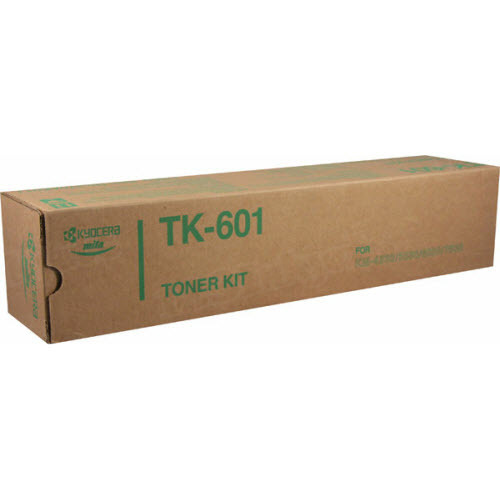 OEM Kyocera-Mita TK-601 Black Toner Cartridge