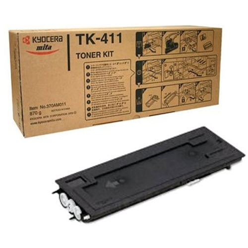 OEM Kyocera-Mita TK411 Black Toner Cartridge
