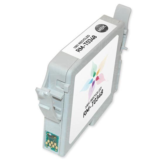 Epson Remanufactured T034820 Matte Black Inkjet Cartridge