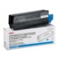 Original High Yield Cyan Laser Toner Cartridge for Okidata 42127403 5K Page Yield