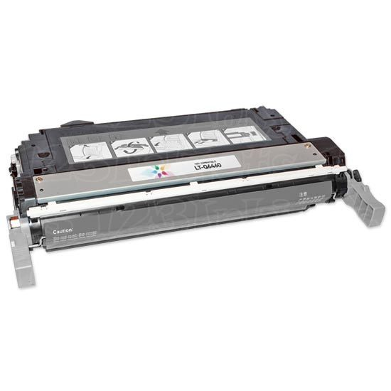 Remanufactured Replacement Black Laser Toner for HP 644A