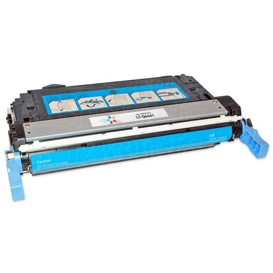 Remanufactured Replacement Cyan Laser Toner for HP 644A