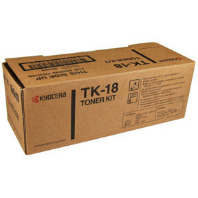OEM Kyocera-Mita KMTK18 Black Toner Cartridge