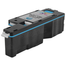 Compatible Dell C5GC3 Cyan Toner for 1250c,  1350cnw, 1355cnw Laser Printers, 1.4K Yield