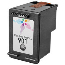 Remanufactured Replacement Ink Cartridge for Hewlett Packard CC653AN (HP 901) Black