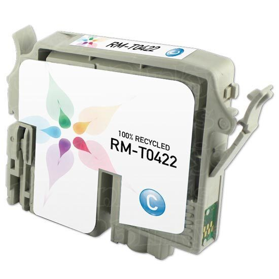 Epson Remanufactured T042220 Cyan Inkjet Cartridge