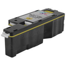 Compatible Dell WM2JC Yellow Toner for 1250c,  1350cnw, 1355cnw Laser Printers, 1.4K Yield