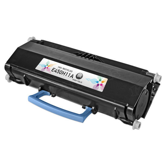 Remanufactured E450H11A HY Black Toner for Lexmark