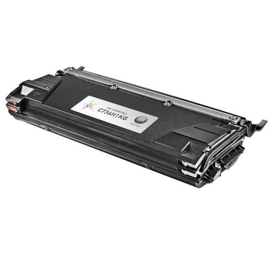 Remanufactured C736H1KG High Yield Black Toner for Lexmark