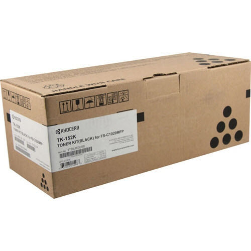 OEM Kyocera-Mita TK-152K Black Toner Cartridge