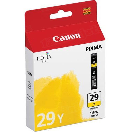 Canon PGI-29Y Yellow OEM Ink Cartridge