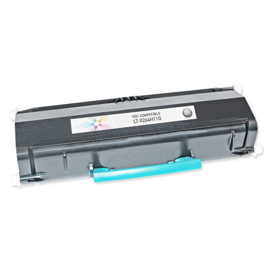 Compatible X264H11G High Yield Black Toner for Lexmark