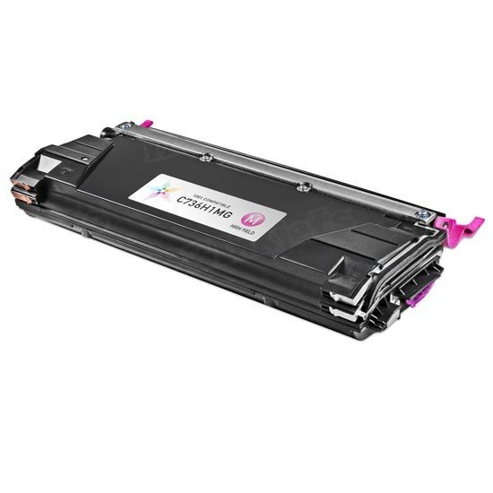 Remanufactured C736H1MG High Yield Magenta Toner for Lexmark
