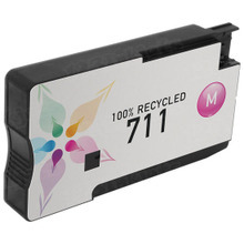 Remanufactured Replacement Ink Cartridge for CZ131A (HP 711) Magenta