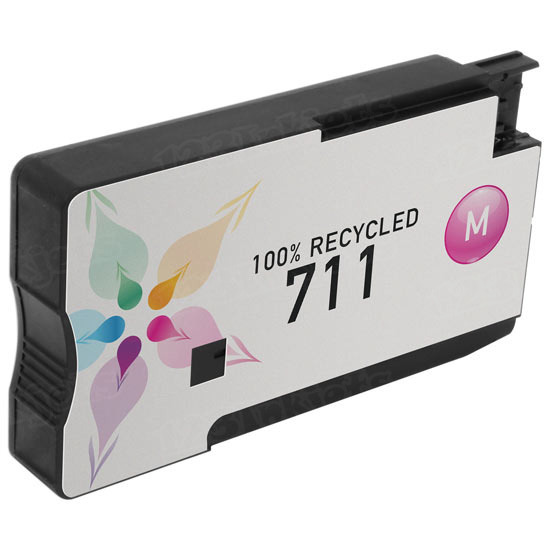 Remanufactured Replacement Magenta Ink for HP 711