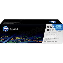 HP 125A (CB540A) Black Original Toner Cartridge in Retail Packaging