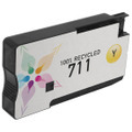 Remanufactured Replacement Yellow Ink for HP 711