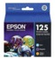 Original Epson 125 OEM Ink Cartridge Color 3-Pack, T125520, C/M/Y
