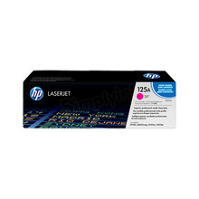 HP 125A (CB543A) Magenta Original Toner Cartridge in Retail Packaging