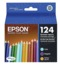Epson 124 Color OEM Ink Cartridge 3PK