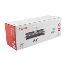 Canon EP-87 (4,000 Pages) High Yield Magenta Laser Toner Cartridge - OEM 7431A005AA