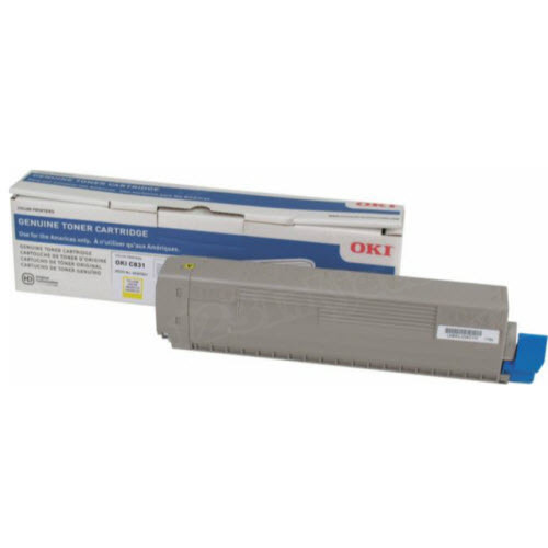Okidata C831 Yellow Toner