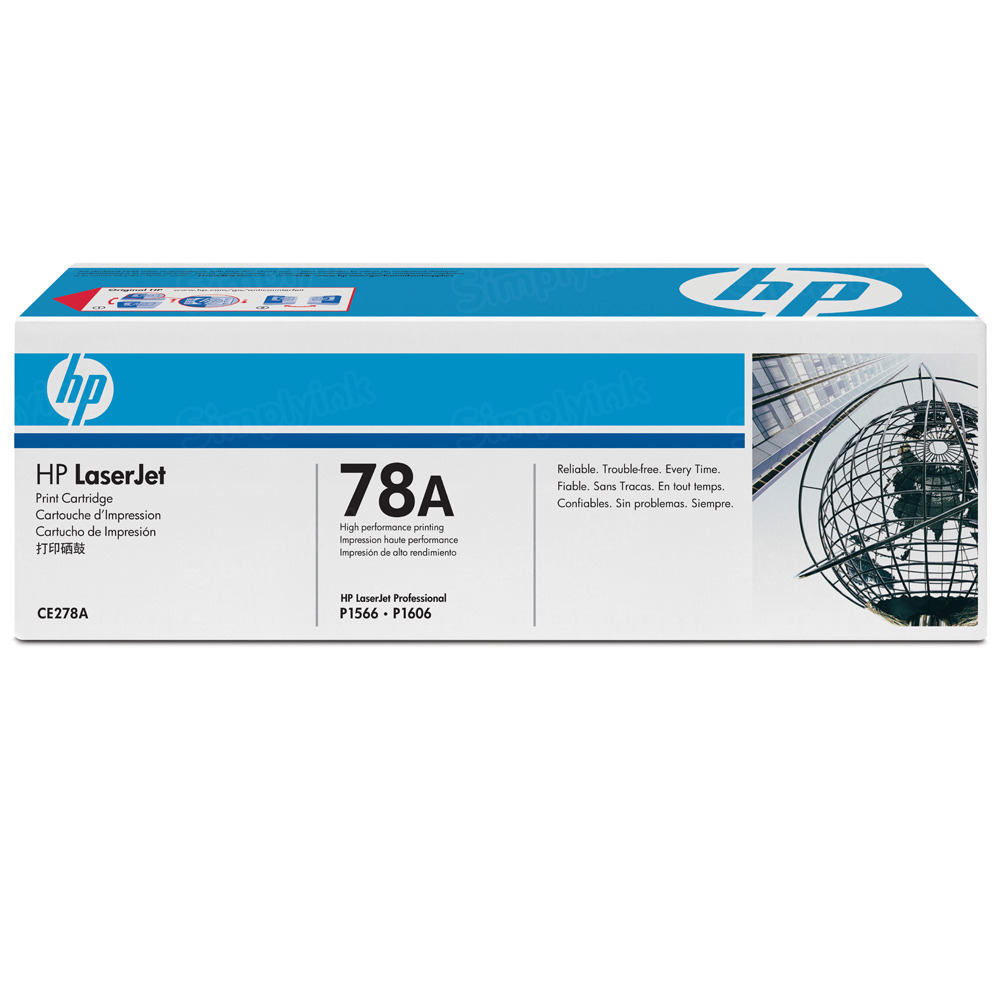 Original HP CE278A (78A) Black Toner