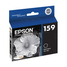 Original Epson 159 Matte Black Inkjet Cartridge (T159820)