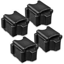 Compatible Xerox Set of 4 Black 108R00930 Solid Ink Blocks for the ColorQube 8570 / 8580
