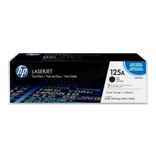 HP 125A (CB540AD) Black Original Toner Cartridge in Retail Packaging