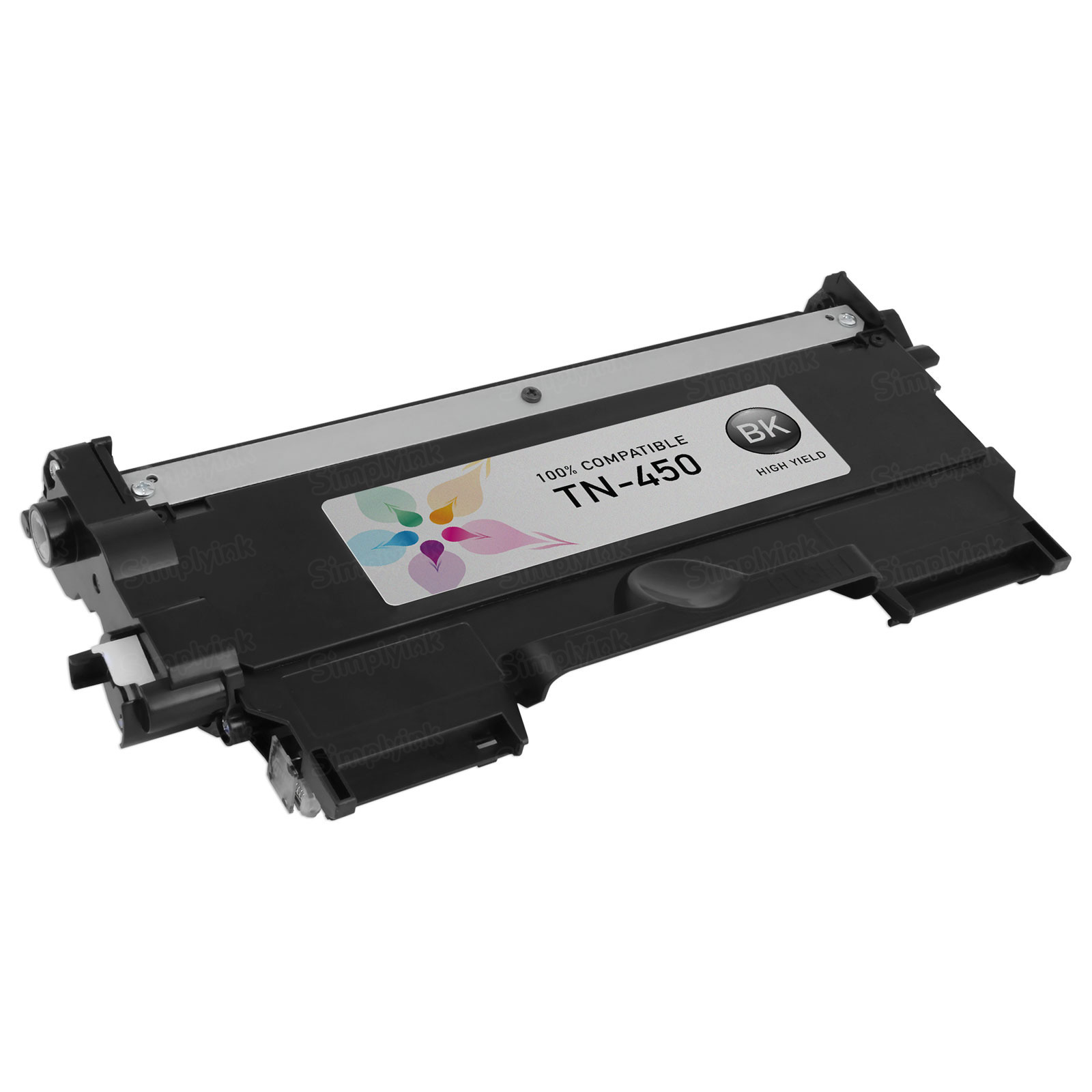 Compatible TN450 High Yield Black Toner for Brother