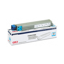 Okidata OEM Cyan 42918903 Toner Cartridge 15K Page Yield