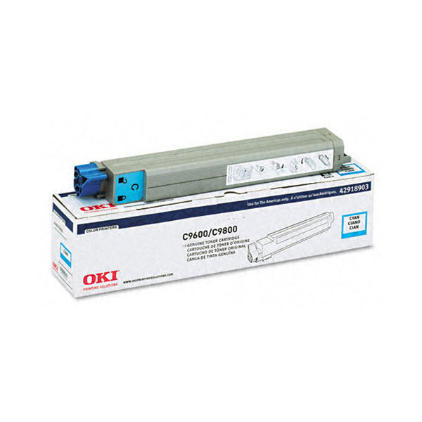 OEM Okidata 42918903 Cyan Toner Cartridge