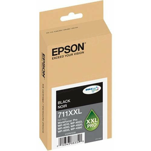 Epson 711XXL Black OEM Ink Cartridge (T711XXL120)