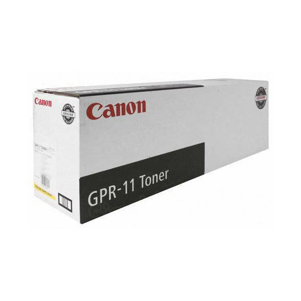 Canon GPR11Y Yellow Toner Cartridge, OEM