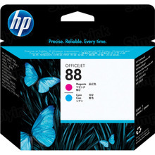 Original HP 88 Cyan and Magenta Printhead in Retail Packaging (C9382A)