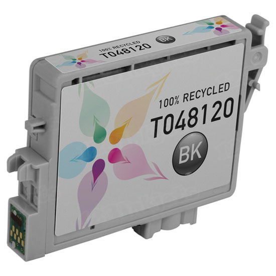Epson Remanufactured T048120 Black Inkjet Cartridge