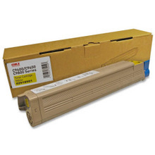 Okidata OEM Yellow 42918981 Toner Cartridge 16.5K Page Yield