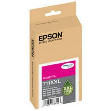 Original Epson 711XXL Magenta Inkjet Cartridge (T711XXL320), High-Capacity