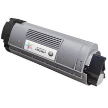 Compatible Okidata 43324469 Black Laser Toner Cartridges for the Oki C6000, C6050 5K Page Yield