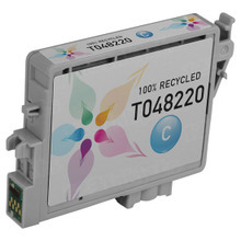 Remanufactured Epson T048220 (T0482) Cyan Ink Cartridges