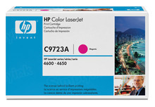 HP 641A (C9723A) Magenta Original Toner Cartridge in Retail Packaging