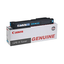 Canon GPR-11C (25,000 Pages) High Yield Cyan Laser Toner Cartridge - OEM 7628A001AA
