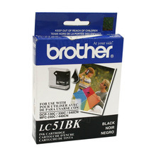 Brother LC51BK Black OEM Ink Cartridge