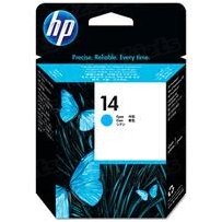 Original HP 14 Cyan Printhead in Retail Packaging (C4921A)