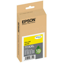 Original Epson 711XXL Yellow Inkjet Cartridge (T711XXL420), High-Capacity
