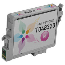 Remanufactured Epson T048320 (T0483) Magenta Ink Cartridges