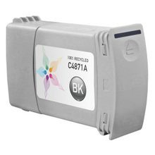 Remanufactured Replacement Ink Cartridge for Hewlett Packard C4871A (HP 80) 350ml Black