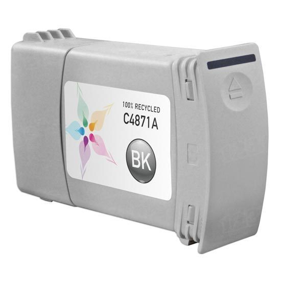 Remanufactured Replacement Black Ink for HP 80